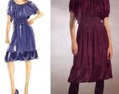 Vogue 2978 DKNY Designer Dress / Slip Pattern - Donna Karan - Drawstring Neck - Size 14-16-18-20 - Uncut