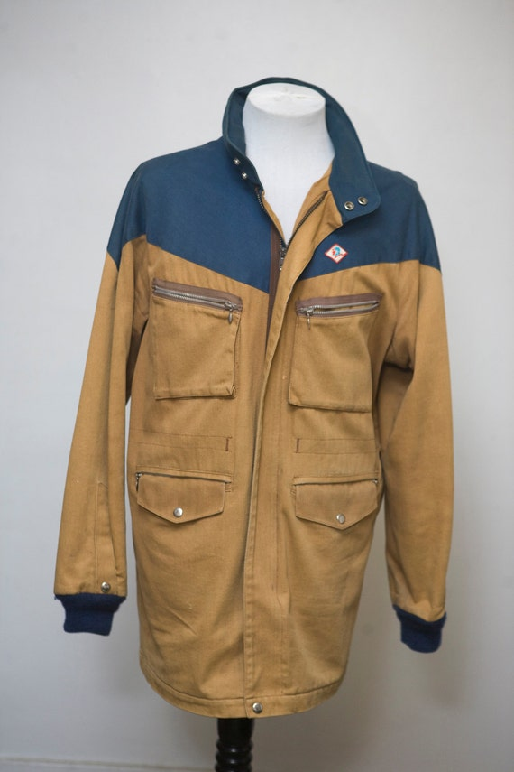 Vintage Canvas Sporting Jacket