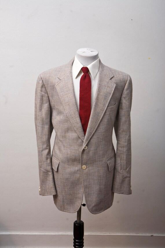 Size 46 Vintage Silk Sport Coat