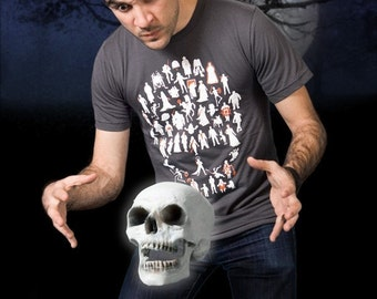 undeadWe Tshirt (51 icons of the Undead)