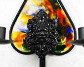Green Man Candle Sconce Set - Dark Home Decor - Burtonesque - Goth - Gifts under 50 - Goth - Unique Gifts - OOAK