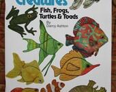 Fish Quilt Book -- Aquatic Creatures -- Applique Quilting Book