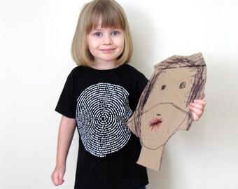 Black Animal Collective Nouns Kids T-shirt kids tee, funny t-shirt, gift for kids t shirt, cotton animal t-shirt, for toddler, girl or boy