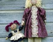 CF201 Emma's Dolly - PDF Cloth Doll Pattern