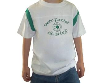 3 DOLLAR SALE: Irish Tee Gaelic Football All Ireland 17 Child Tee