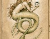 Coffee Mermaid by Renae Taylor