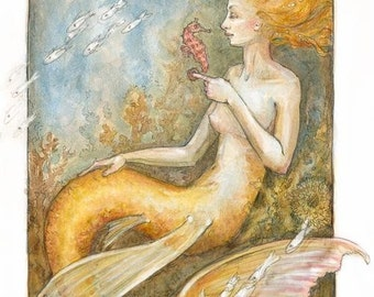 The Golden Mermaid by Renae Taylor