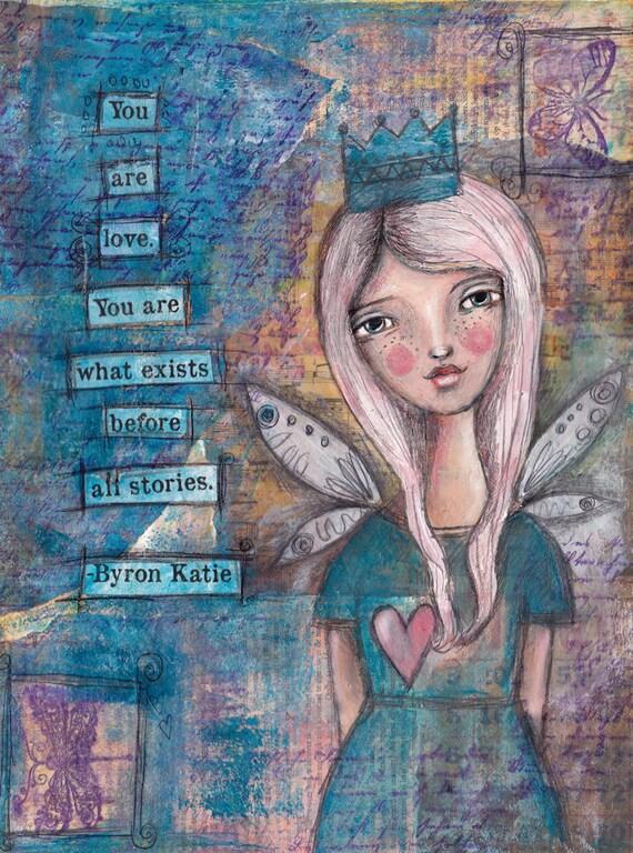You are Love - Fine Art Print