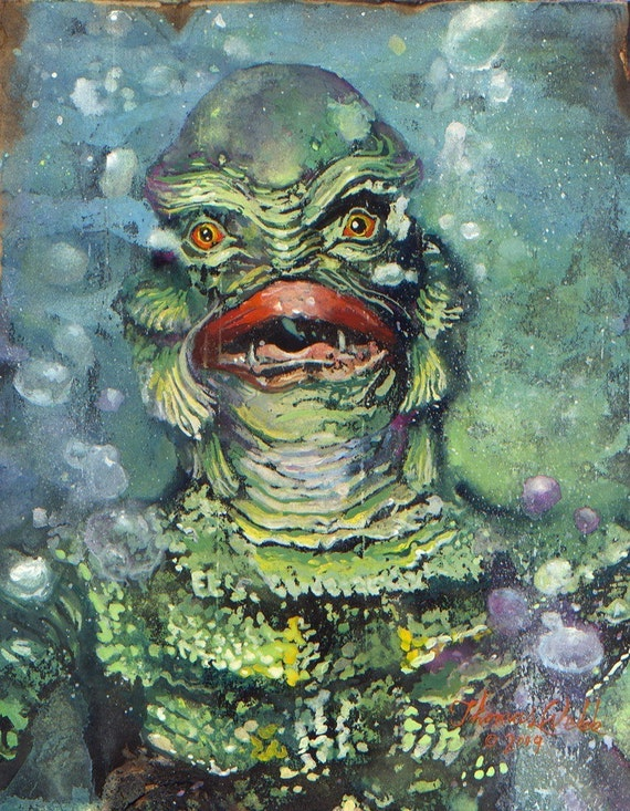 The Creature From The Black Lagoon  (Gill-Man)