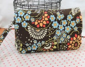 SALE! 30% off Geisha Fans Diaper Clutch and Changing Mat