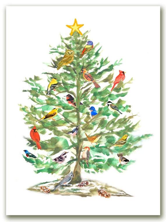 Christmas Card Song Song Bird Christmas Cards