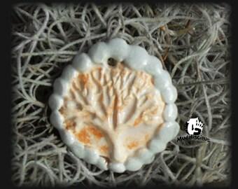 Tree of Life Stoneware Pendant
