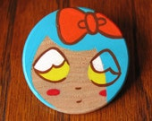 Doll Face Pin 3 Scout