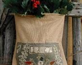 In The Meadow - primitive Needle Punch pattern from Notforgotten Farm - Etsy Folk