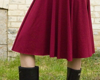 Organic Cotton & Bamboo Pull on Skirt or Poncho