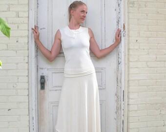 Organic Cotton & Bamboo Long Wrap Skirt