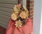 Primitive Black American Folk Art Doll e-Pattern Plant Garden Raggedy Rhondas faap team