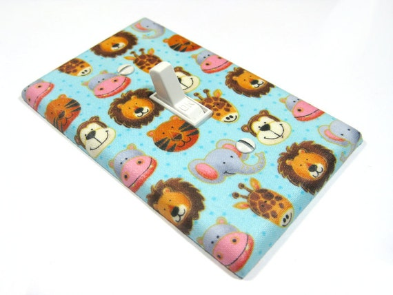 Items Similar To Noah 39 S Ark Nursery Decor Light Switch Cover Boy Nursery Decor Boy Bedroom