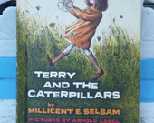 Terry and the Caterpillars - Vintage Children's Book by Millicent E. Selsam