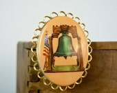 Liberty Bell Brooch / Liberty Bell Pin
