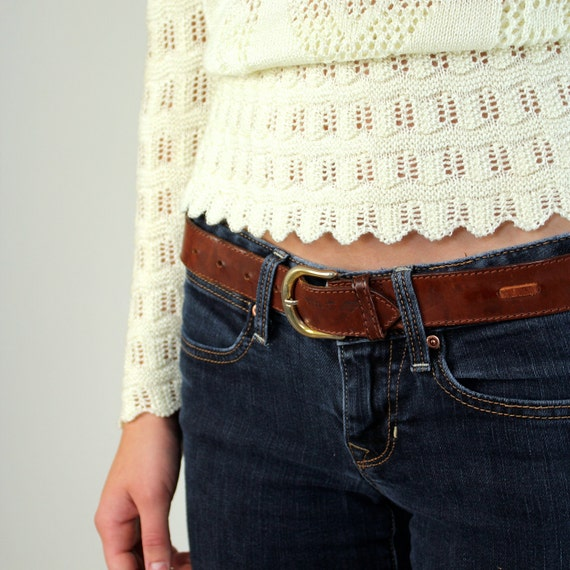 Armani Belt -  Giorgio Armani Leather Belt