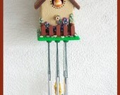 Wind Chime Cottage Birdhouse