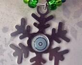 Snowflake Wine Charms - Set of 6