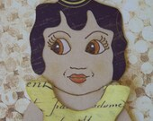 Paper Doll in Kewpie Style - Limited Edition No 12