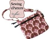 Sew Spoiled Laptop/ iPad/ Ebook Reader Sleeve sewing PDF Pattern
