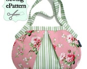 2- PDF Sewing Patterns, Ladybug Shoulder Bag and Weekender Tote