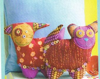 Sweet Seams Cuddly Pets Sewing Pattern ON SALE