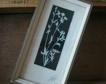 1965 spring flowers framed PAPERCUT