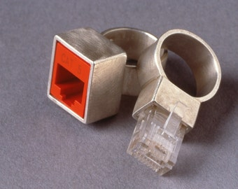 Jacked--Cat 5 Compliant Wedding Ring Set