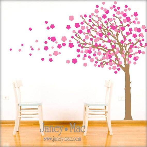 Arbol de cerezo pintado en pared imagui - Pintado de paredes ...