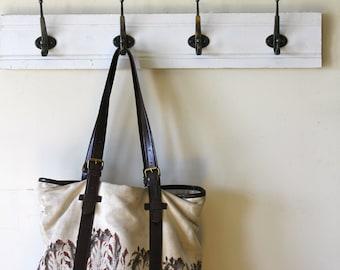 Simple White Coat Rack