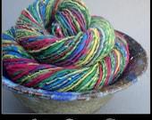 Soft Merino Handspun - Rainbow, 1.8oz, 126yd, DK , WPI 12, Singles
