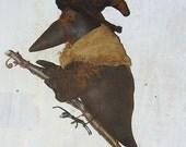 Lena's Glorious Ride, A Primitive Pattern by Raven's Haven