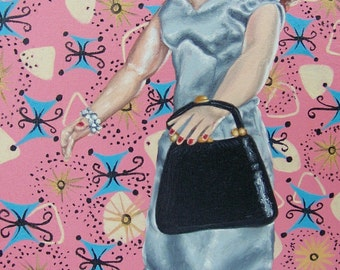 Simply Patsy Oil Painting by Patsydoll
