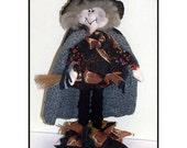 Wild Wilma Witch Country Halloween Art Doll