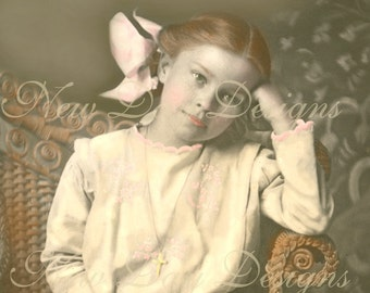 Miss Amanda, Victorian Photo Scan, Instant Digital Download DP008