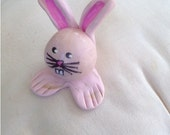 Mr Nibbles Head Assistant to Peter Cottontail Hand Sculpted Mini Marble Friend