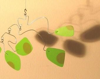 grasshopper - hanging art mobile