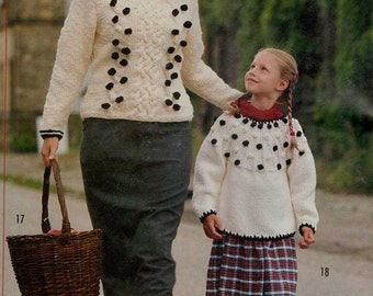 Sandra The Knitting Magazine January 2002 31 Knitting Patterns for Women and Children