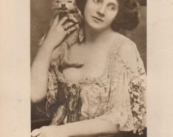 My Fair Lady Beatrice Stella Cornwallis West Original Vintage Antique Print