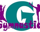 Big G Gymnastic Wall Art