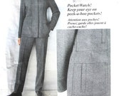 UNCUT DKNY Jacket and Pants Size 8 10 12 31 half 32 half 34 half