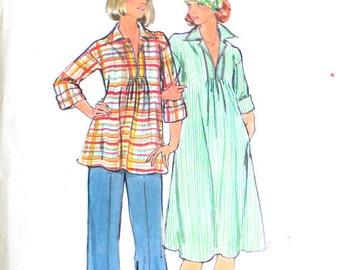 Maternity Dress, Top and Pants Bust 32.5 Waist 25