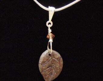 Sweet Little Tea Leaf Pendant