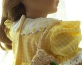 American Girl Doll Accessories Crochet School Bag for dolls Fits 18 inch doll or American Girl Doll