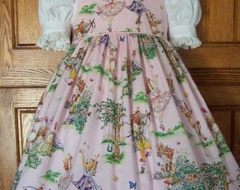 Girls & Toddlers Fairy Jumper/Pinafore Dress Size 2-8